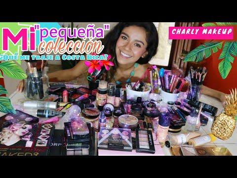 Mi colección de maquillaje en Costa Rica | Charly Makeup