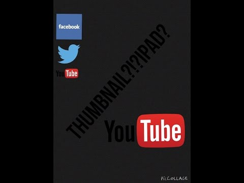 How To Set A YouTube Thumbnail!?! iPad,iPhone and iPod touch.