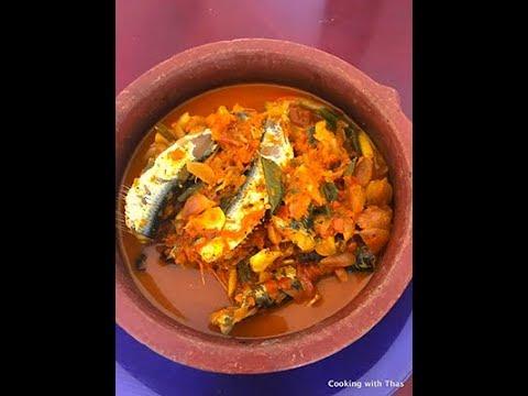 Easy Kerala Fish Curry- Mulakum Puliyum