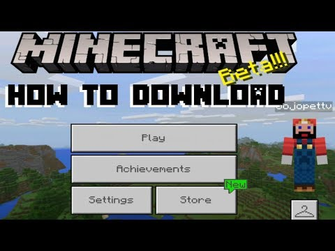 How to Download Minecraft Beta (1.2.13.8) on Windows 10, XBOX One and Android