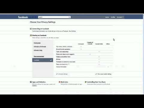 how to make facebook profile private