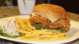 Chicken Zinger Burger Recipe
