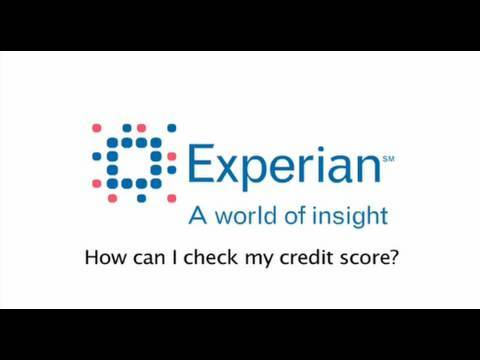 How can I check my credit score?