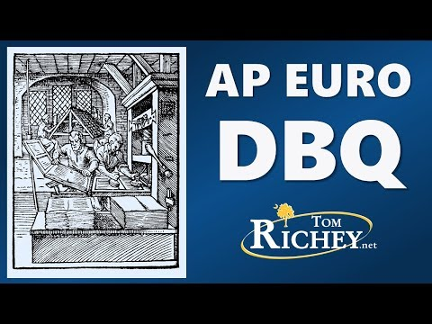 The AP Euro DBQ (Updated for 2017 Rubric)
