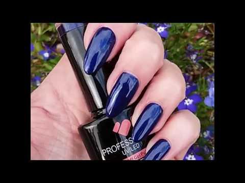 599 VB LINE DARK BLUE SHINY METALLIC UV/LED SOAK OFF NAIL GEL COLOR POLISH PROFESSIONAL SHELLAC