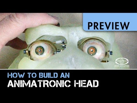 How to Build An Animatronic Head - Part 2 - PREVIEW