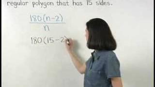 Each Interior Angle Of A Regular Polygon Mathhelpcom