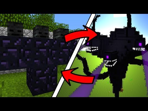 How To Spawn Wither Storm BOSS in Minecraft Pocket Edition (Wither Storm Addon)