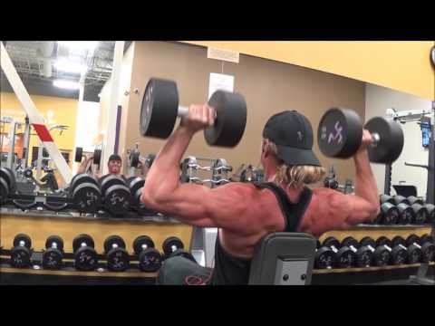 Shoulders and Traps Workout at my New Gym!