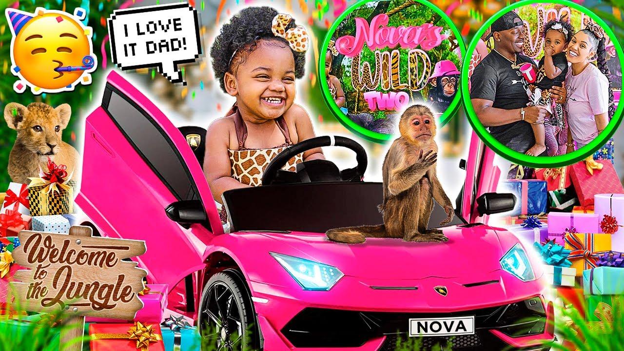 NOVA'S 2ND BIRTHDAY PARTY 💕