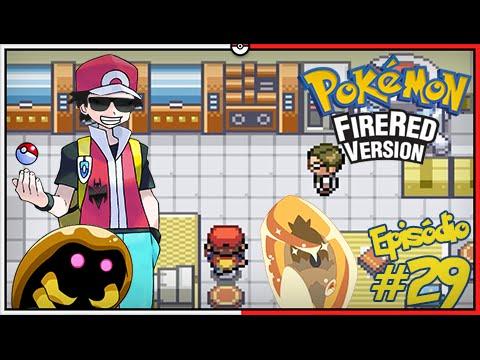Pokémon Fire Red Let's Play #29: Resgatando Kabuto e o Amber Antigo do Aerodactyl