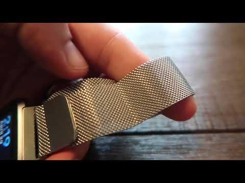 Fitbit Versa Milanese Loop Band Review | Myriann Milanese Loop Band