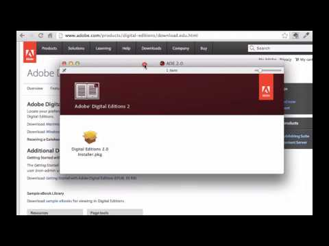 Tutorial: Download an ePUB eBook and Open It in Adobe Digital Editions