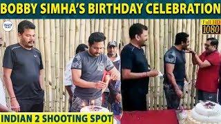 Bobby Simha's Unforgettable Birthday with Shankar & Vivek   Indian 2   Anirudh   LittleTalks