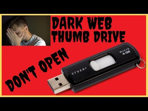 Dark Web Mystery Box USB Drive Reaction(Warning)