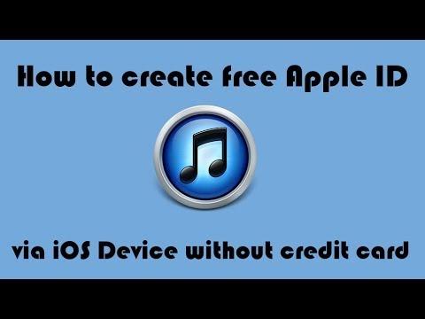 How to create free Apple ID via iOS Device (IOS 7)
