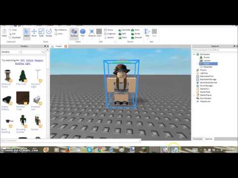 ♬ ROBLOX: How to Make a Model of Yourself & a Friend! ✔