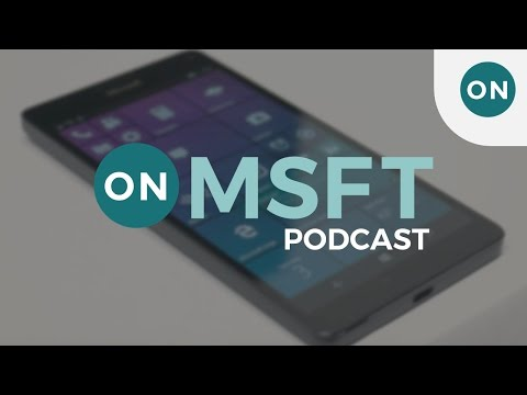 1:05:17 OnMSFT | Talk Microsoft Episode 7: Project Evo, W10 on ARM, Holographic Devices, Build 14986