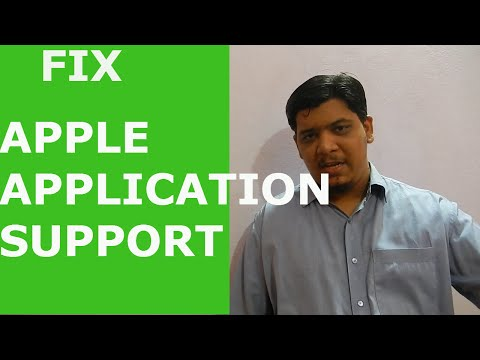 How to Fix Apple Application Support error