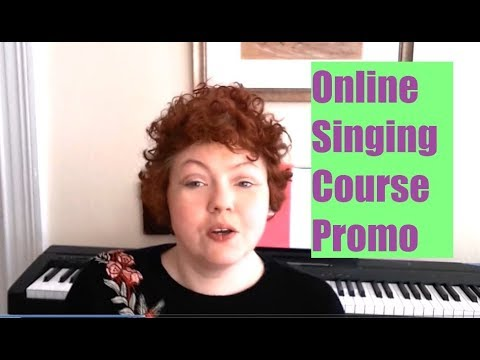 Udemy Singing Course Promo: Learn to Sing Online