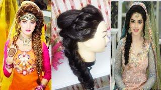 Bridal Hairstyle Pics For Mehndi : Download bridal mehndi hairstyle mp4 3gp hd video hdvidzpro