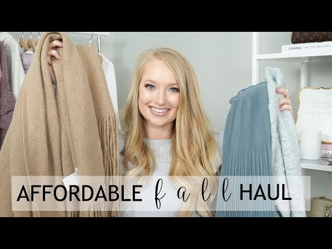 Affordable Fall Haul - Target, Hearth and Hand, H&M, Loft, Nordstrom