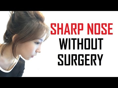 HOW TO GET SHARP NOSE NATURALLY | SHARP NOSE WITHOUT SURGERY