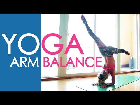 Yoga Arm Balance, Easy Pinchamayurasana Practice with Kino