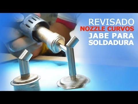 Revisado nozzle curvos jabe para soldadura