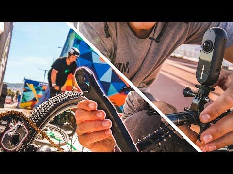 SRAM XO Carbon Kurbel gebrochen + Insta360 One Review | O'Marisquino Vigo DIRTJUMP CONTEST