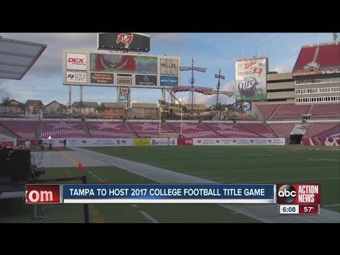 Tampa to host 2017 College Football Title Game