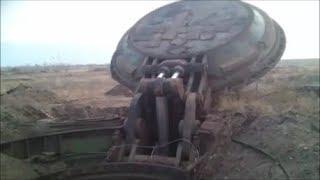 Russian ICBM 150-Ton Ballistic Missile Silo Lid Opens Effortlessly !!!