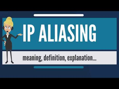 What is IP ALIASING? What does IP ALIASING mean? IP ALIASING meaning, definition & explanation