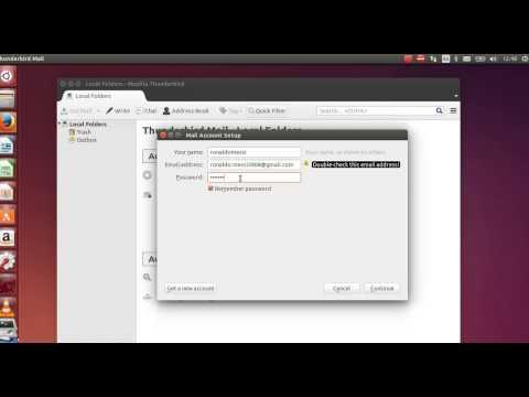 Install and configure Thunderbird Mail on Ubuntu 14.04 new