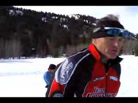 Cross Country Skiing AK Amputee