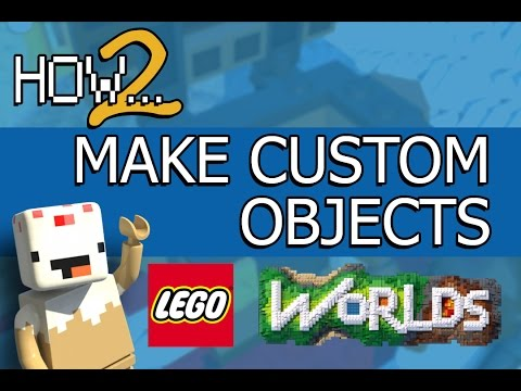 LEGO Worlds Guide: How to Bring Custom Models into LEGO Worlds!