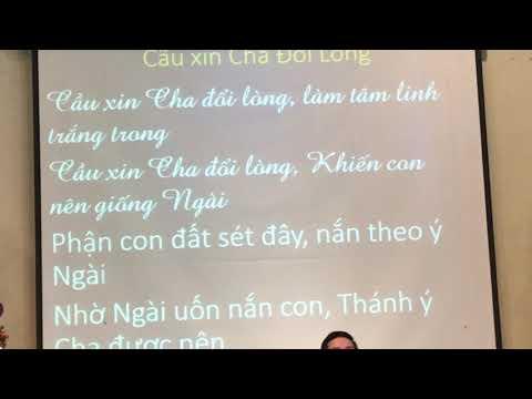 Mục sư Ong Thái An cầu xin Cha đổi lòng