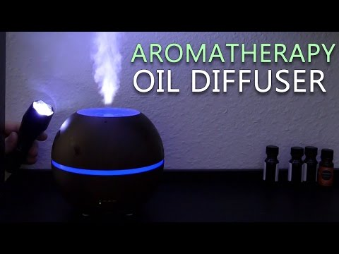 Aromatherapy Essential Oil Diffuser Ultrasonic Cool Mist Humidifier Review
