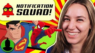 What is the BEST Super Hero Cartoon? Teen Titans, X-Men + MORE! Notification Squad S2 E9