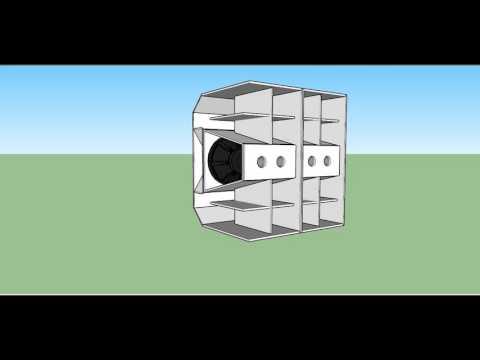 Sub-Zero W-box W-bin Professional PA SubWoofer Cabinet Enclosure