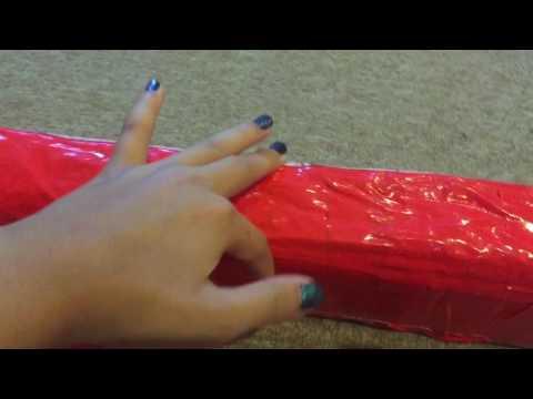 DIY Gymnastic  Beams