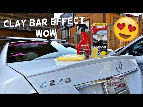 HOW TO USE CLAY BAR. MOTHERS CALIFORNIA GOLD CLAY BAR