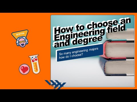 Thoughts on how to choose an engineering field/degree