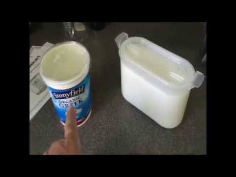 Making your own Hormone free & non-pasteurized Yogurt. quick and easy!