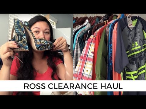 Ross Clearance Haul - 106 items from 4 stores!