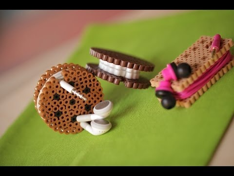 DIY Perler Beads Cord Organizer
