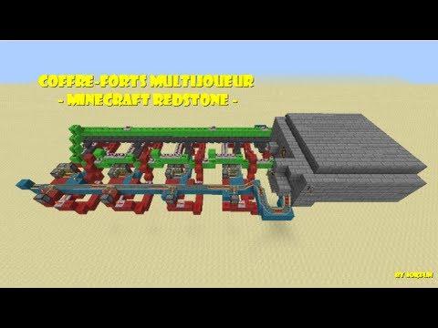 Coffre-fort multijoueur   - Minecraft Redstone - 1.5.2