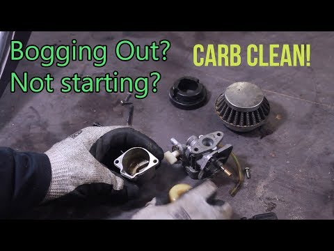 How to CLEAN Carburetor (2 or 4 stroke)