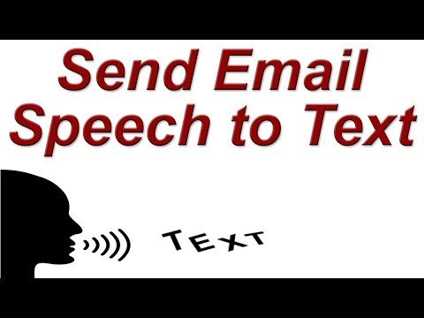 How to Send Email Voice to Text on PC | Speak & Type Email on Laptop