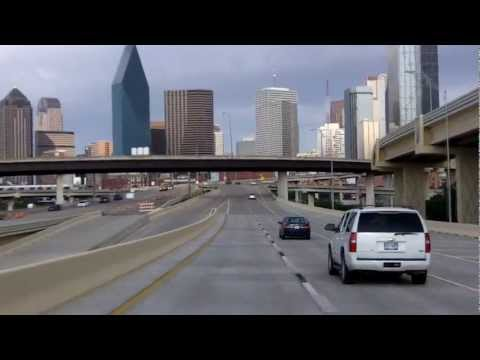 Downtown Dallas, featuring the Margaret Hunt Hill Bridge